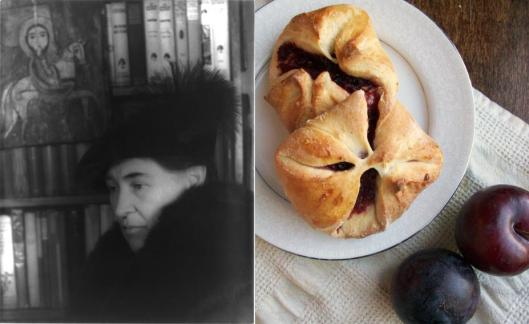 Willa Cather - Spiced Plum Kolache