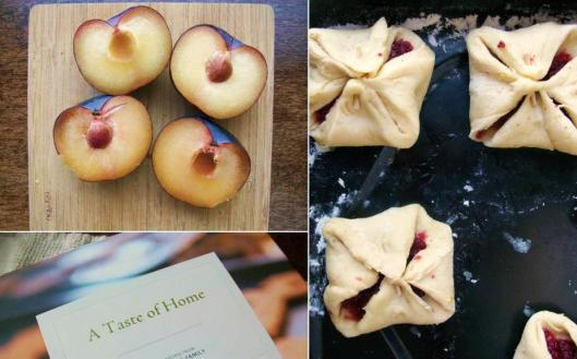 In Progress - Spiced Plum Kolache