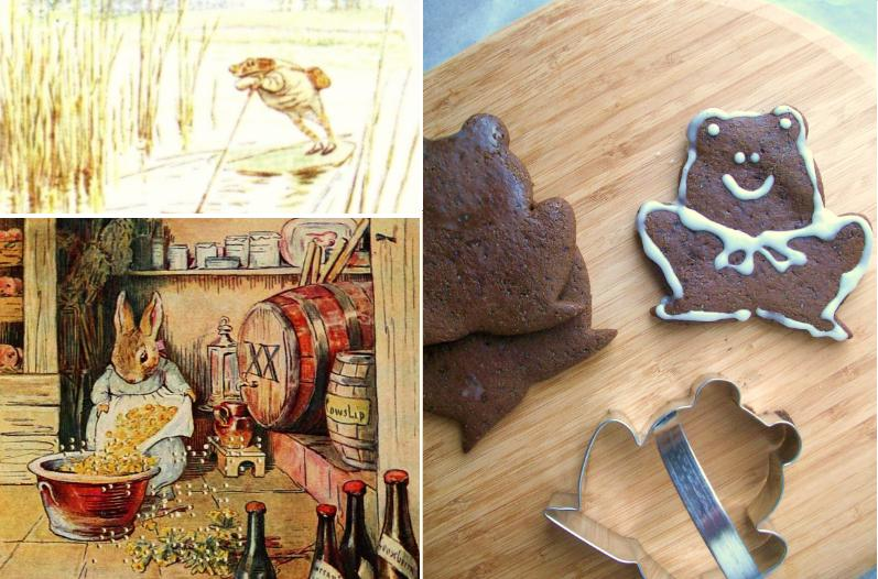 Beatrix Potter: Gingerbread Cookies