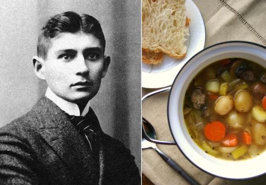 Franz Kafka - Potato Mushroom Soup