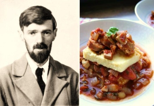 D.H. Lawrence - Polenta with Sausage Ragu