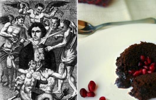 Marquis de Sade - Molten Chocolate Espresso Cake
