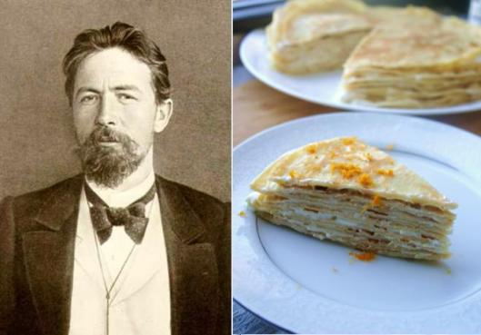 Anton Chekhov: Crepe Cake with Orange Honey Filling