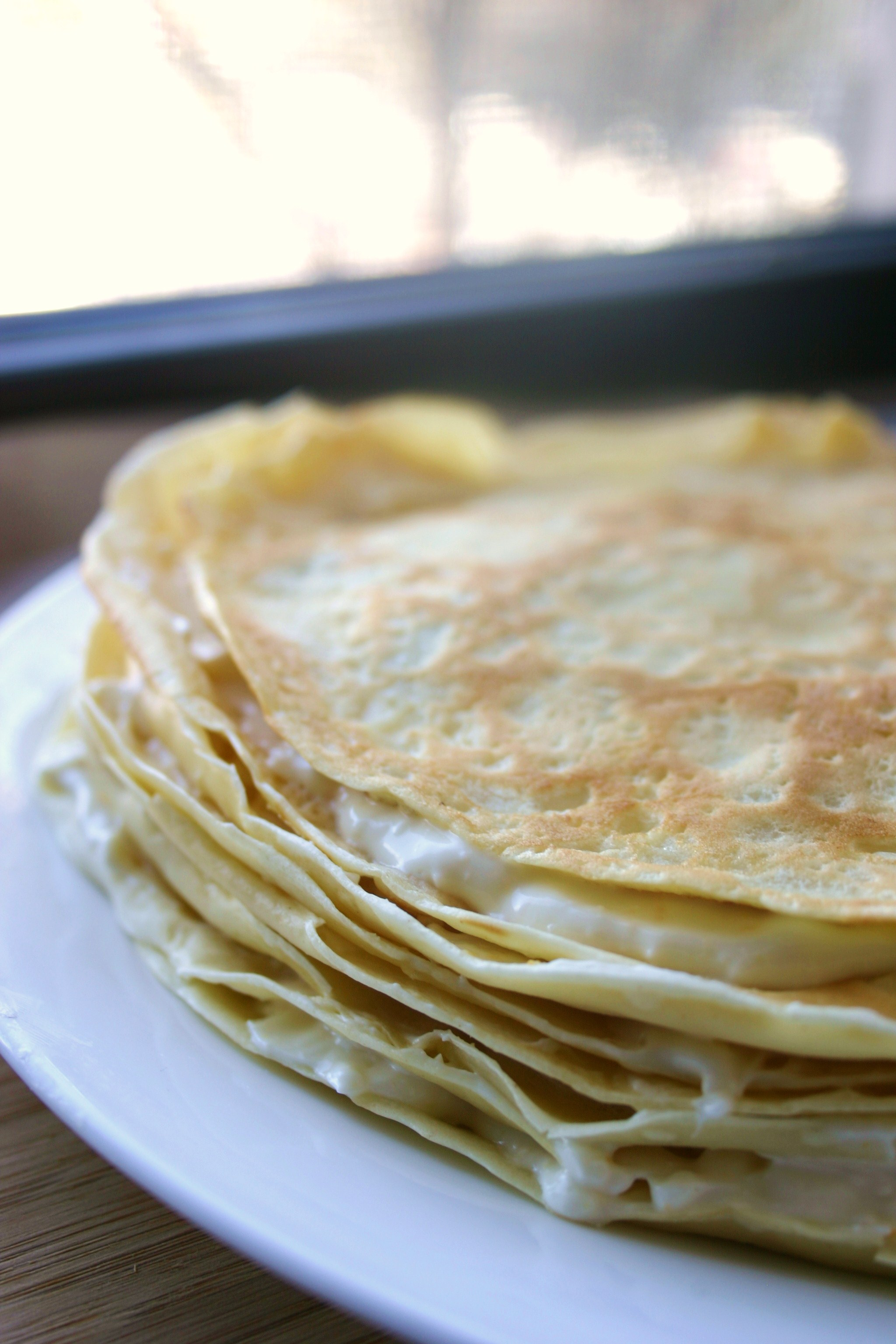 Anton Chekhov: Blini Stack with Honey Orange Filling