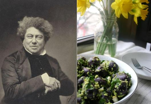 Alexandre Dumas - Potato Salad with Spring Onion Pesto