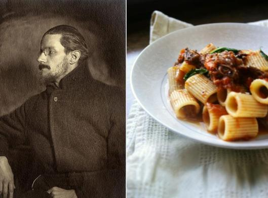 James Joyce - Rigatoni con Stracatto