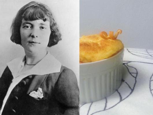 Katherine Mansfield: Orange Soufflé with Sherry Syrup