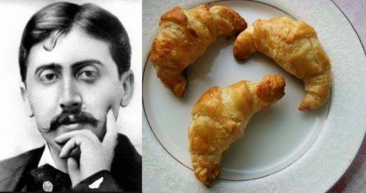 Marcel Proust - Quick Croissants with Coffee Glaze