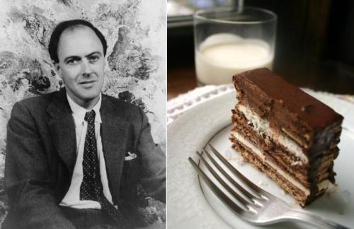Roald Dahl: Homemade Frozen Kit-Kat Cake