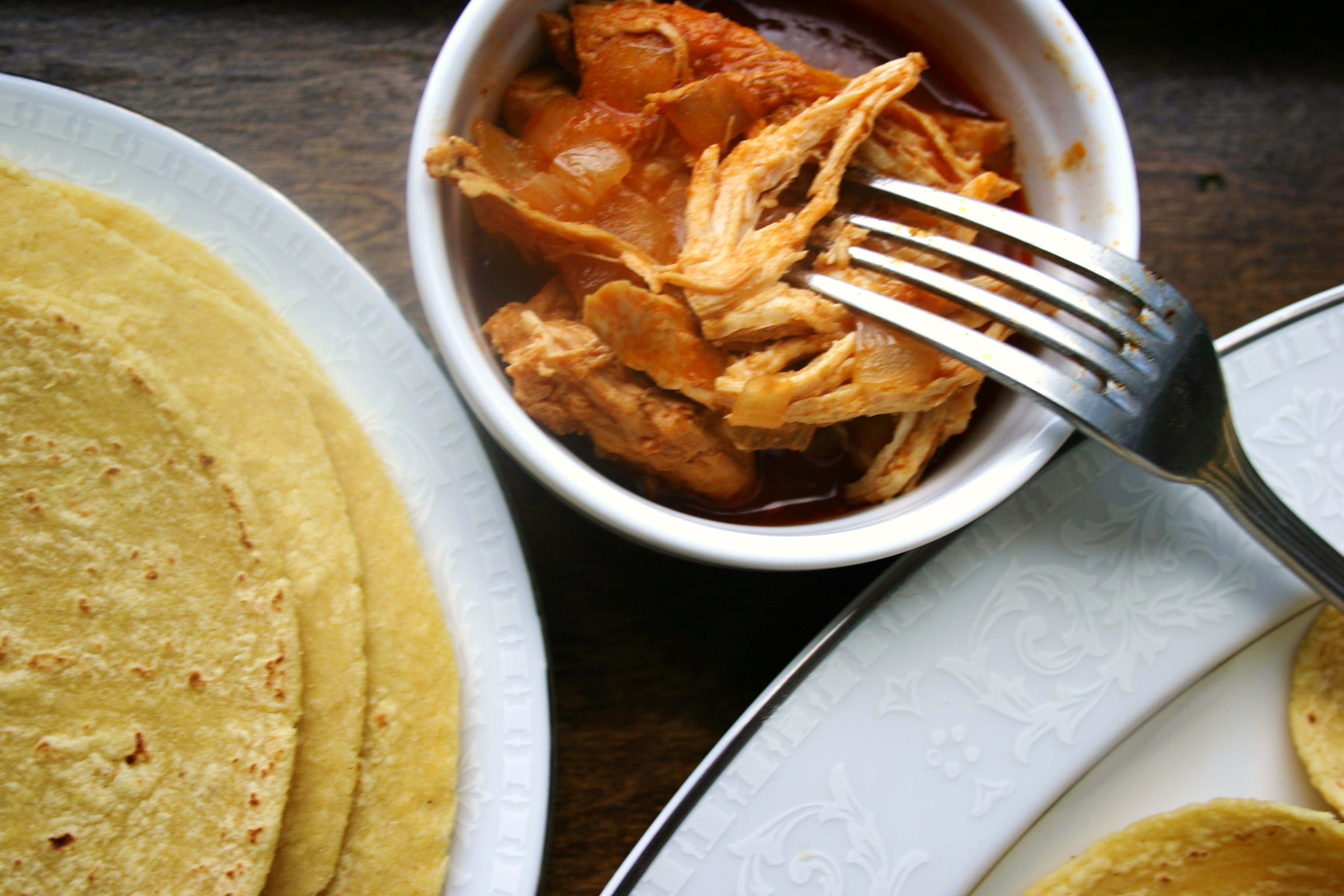 Thomas Pynchon: Beer-Braised Chicken Tacos
