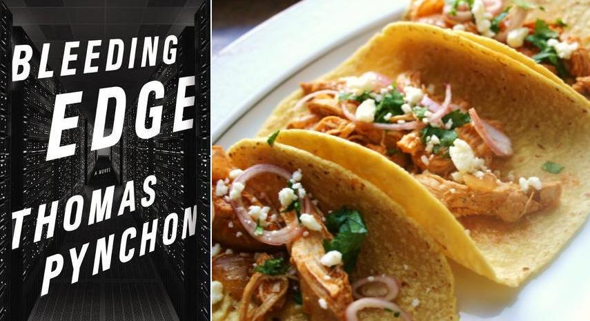 Thomas Pynchon: Beer-Braised Chicken Tacos | Paper and Salt