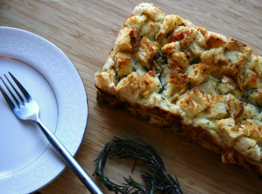 Rosemary Bread Pudding Recipe
