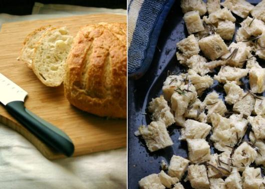 Rosemary Bread Pudding Recipe