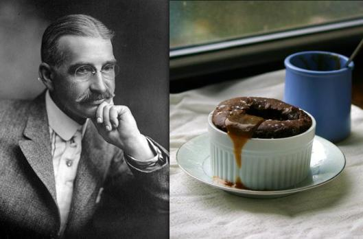 L. Frank Baum: Gingerbread Cake with Butterscotch Sauce