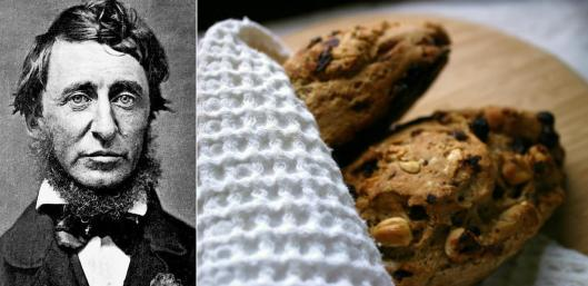 Henry David Thoreau - Hazelnut Raisin Bread