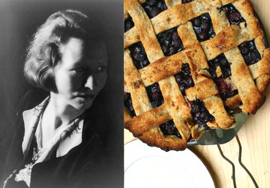 Edna St. Vincent Millay: Wild Blueberry Pie