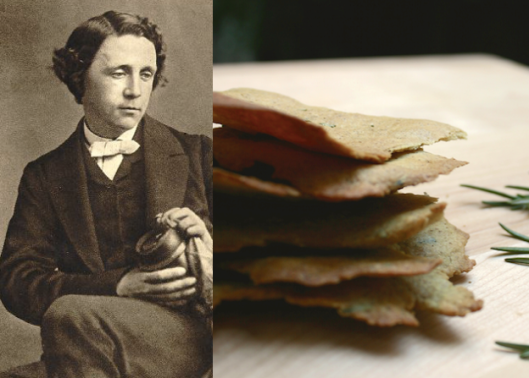 Lewis Carroll - Rosemary Sea Salt Crisps