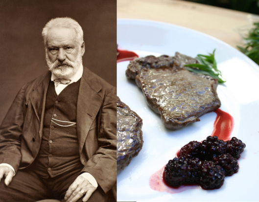 Victor Hugo: Venison with Blackberry Balsamic Tarragon Glaze