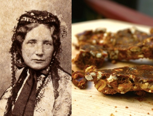 Harriet Beecher Stowe: Maple Popcorn Peanut Brittle