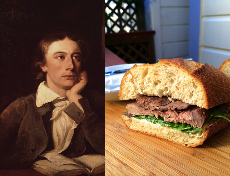 john keats roast beef sandwiches with horseradish dressing paper