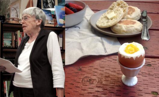 Ursula K Le Guin Egg